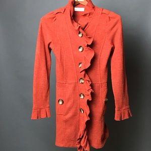 Charlie & Robin Gumshoe Sweatercoat, Anthropologie